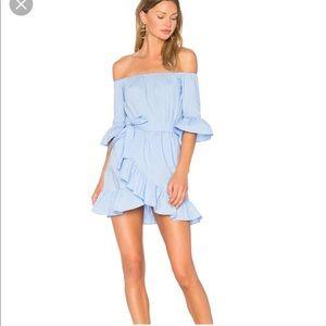 Lovers & Friends Cora Dress in baby blue